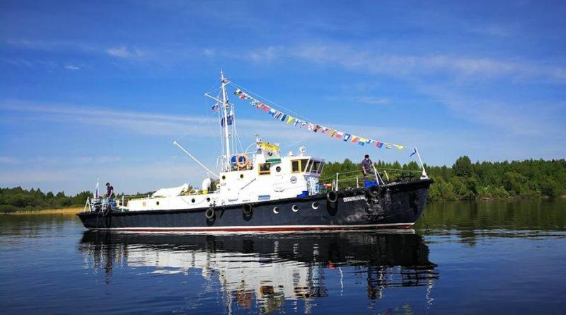 В Астраханскую область направляется экспедиционное судно для съемок фильма