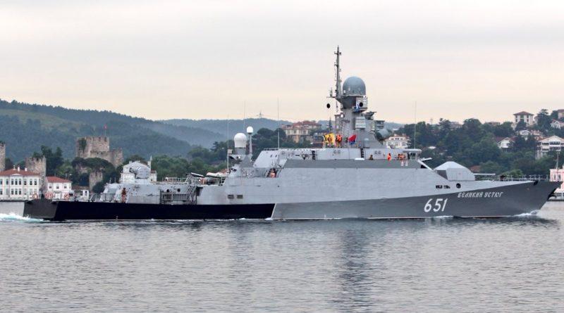 В Астрахань прибыли корабли, находившиеся в Сирии