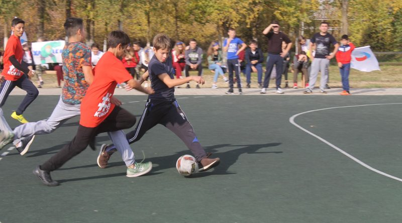 В Астраханской области проходят крупнейшие соревнования по дворовому футболу