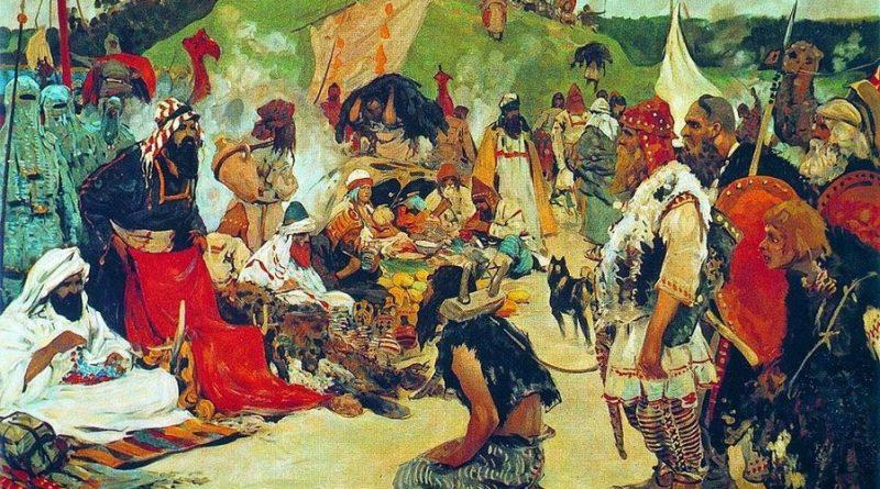 История работорговли в Астрахани