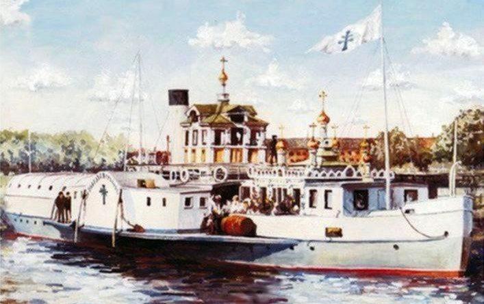 Проданная астраханская церковь или русская судьба английского парохода
