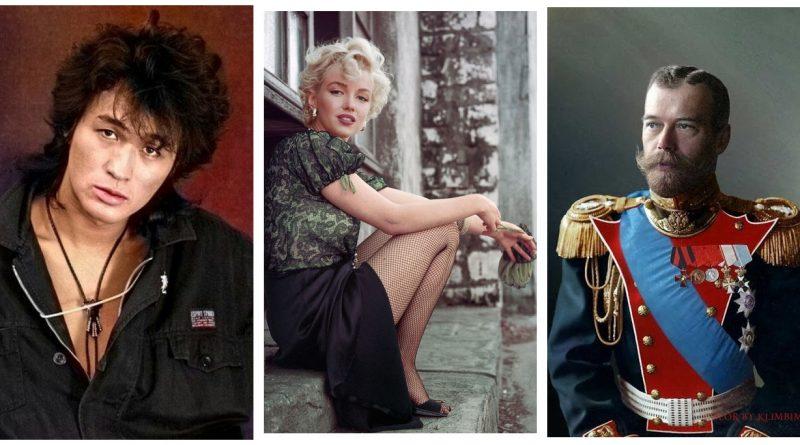Как бы выглядели рано умершие известные личности в старости