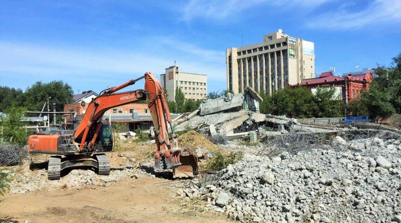 В Астрахани разрешилась ситуация с разбивкой сквера на Селеньях
