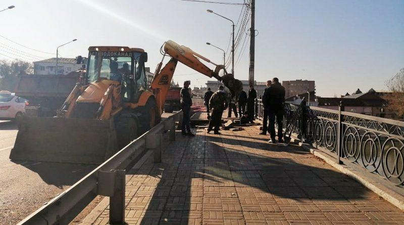 В Астрахани произошло обрушение одного из мостов