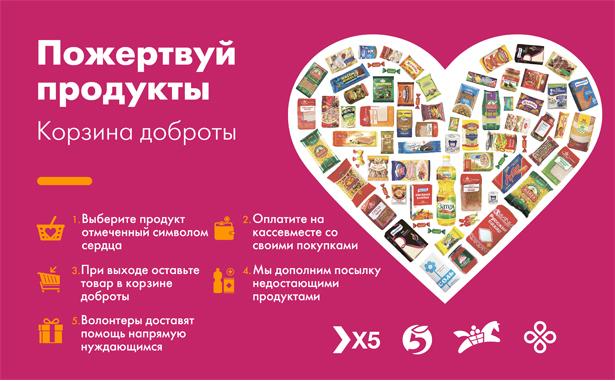 В Астрахани соберут «Корзины доброты» для нуждающихся