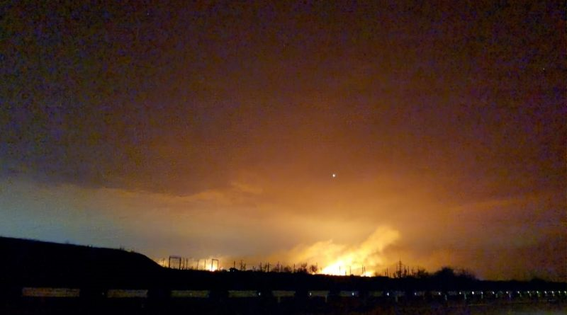 Всепожирающий огонь: на подступах к Астрахани разбушевались пожары