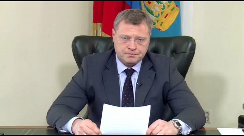 Игорь Бабушкин запретил астраханцам покидать свои места проживания