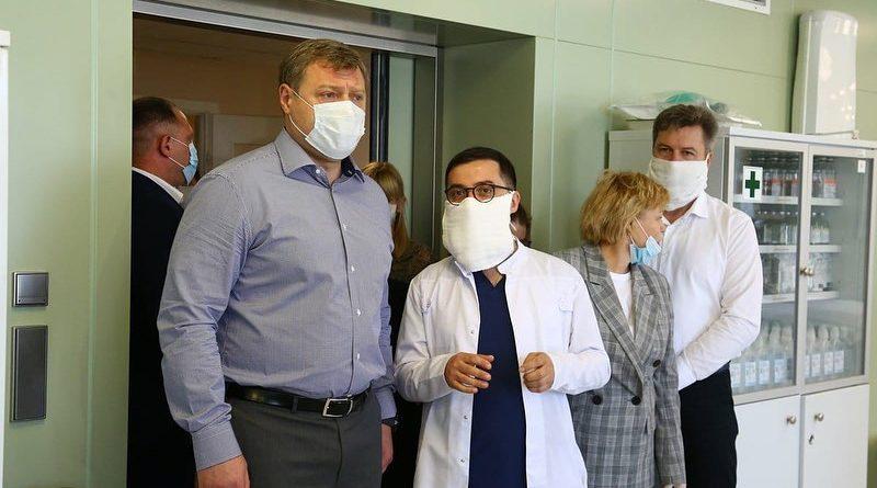 Губернатор Астраханской области ушёл на COVID-самоизоляцию