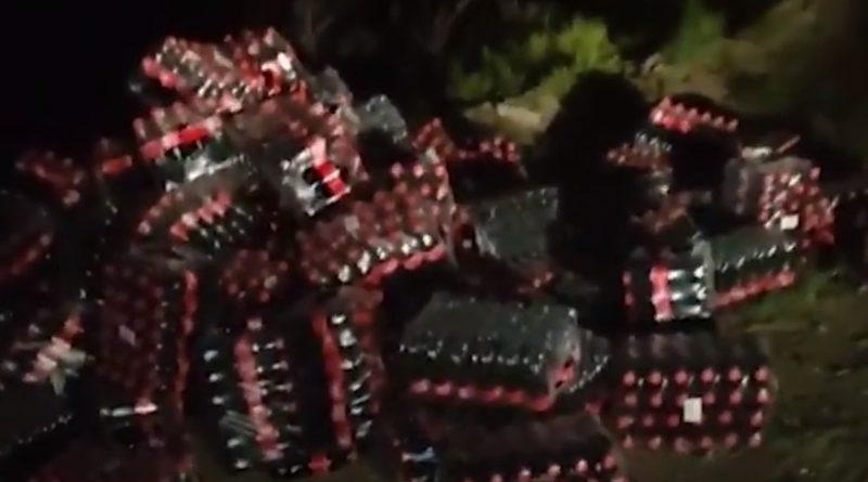 В астраханскую степь выбросили свыше 1000 бутылок с Coca-Cola