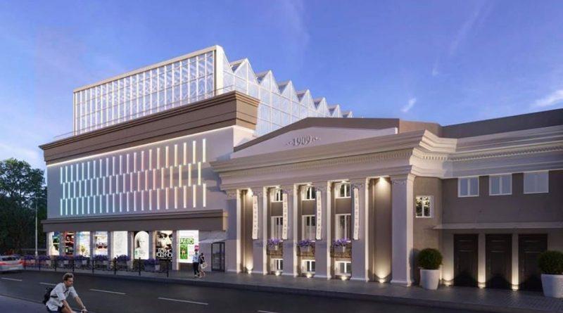 С астраханцами поделились проектом реставрации кинотеатра «Октябрь»