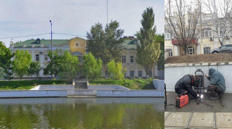 В Астрахани вдоль каналов установили новые урны