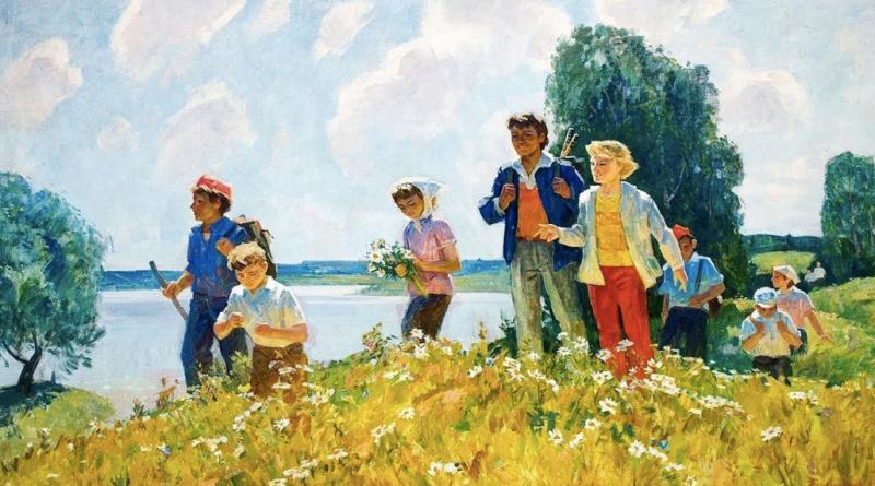 В Астраханской области возрождается детский туризм